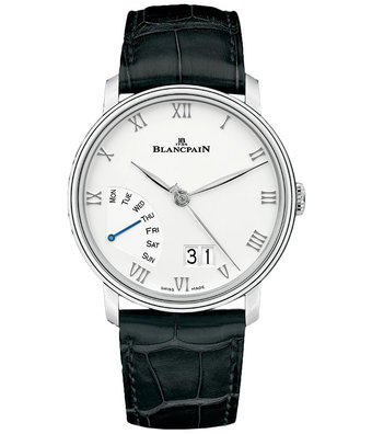 Blancpain Horloge Villeret 40mm Grand Date Retrograde 6668-1127-55B
