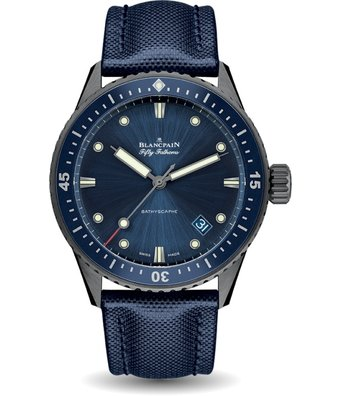 Blancpain Fifty Fathoms 44mm Bathyscaphe 5000-0240-052A