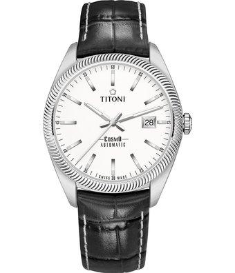 Titoni Horloge Cosmo 41mm 878-S-ST-606