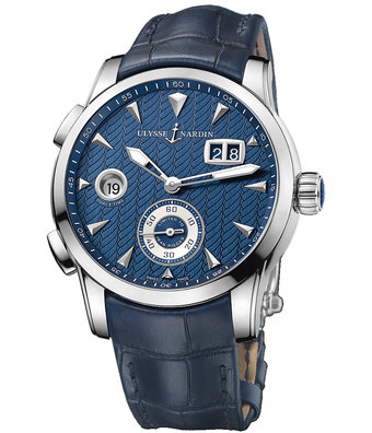 Ulysse Nardin Classic 42mm Dual Time Manufacture 3343-126LE/93