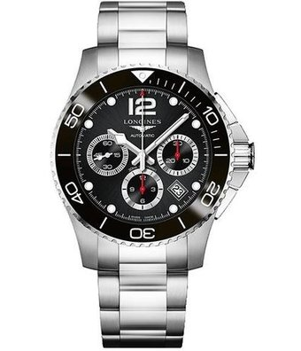 Longines Horloge HydroConquest 43mm Diver Chronograph L3.883.4.56.6