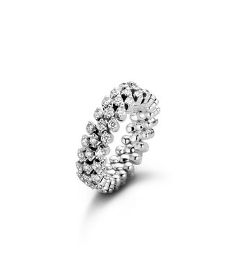 Serafino Consoli Flexibele Ring Brevetto multi size 3rij RMS3H4WGWD