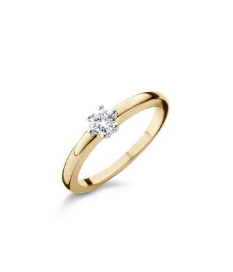 Schaap en Citroen Solitair Ring Diamonds 2372