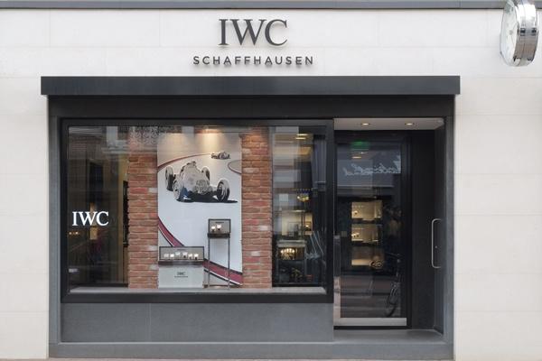 IWC Boutique Schaap en Citroen | binnenkant juweliershuis