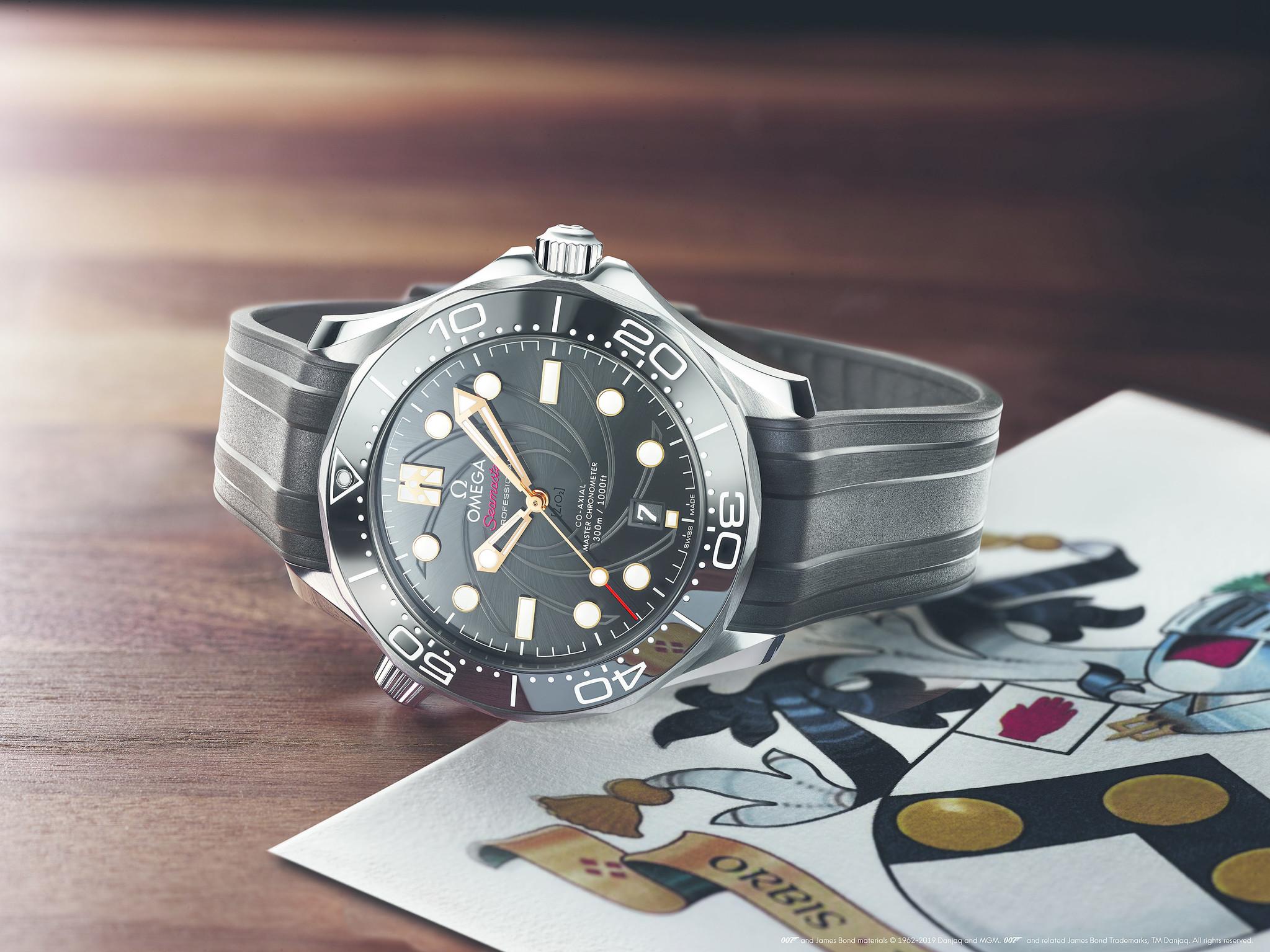 007 time; Omega lanceert het nieuwe James Bond horloge!