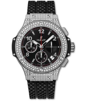 Hublot Horloge Big Bang 41mm Chronograph Steel Pave 341.SX.130.RX.174