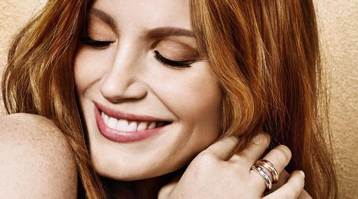 Jessica Chastain draagt het liefste de sieraden van Piaget