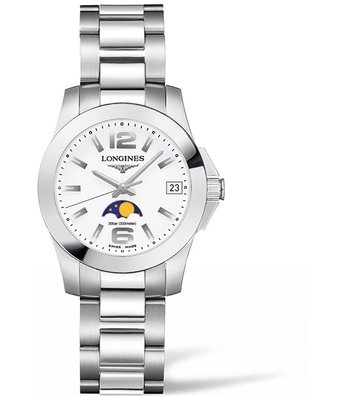 Longines Horloge Conquest 29mm Moonphase L3.380.4.16.6