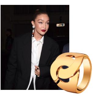 Gigi Hadid met dinh van sieraden