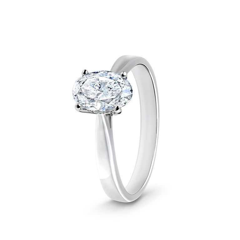 Schaap en Citroen juweliers en Royal Asscher Oval Ring