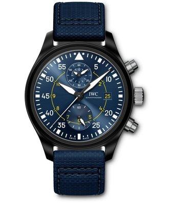 IWC Horloge Pilot watch 45mm Blue Angels IW389008
