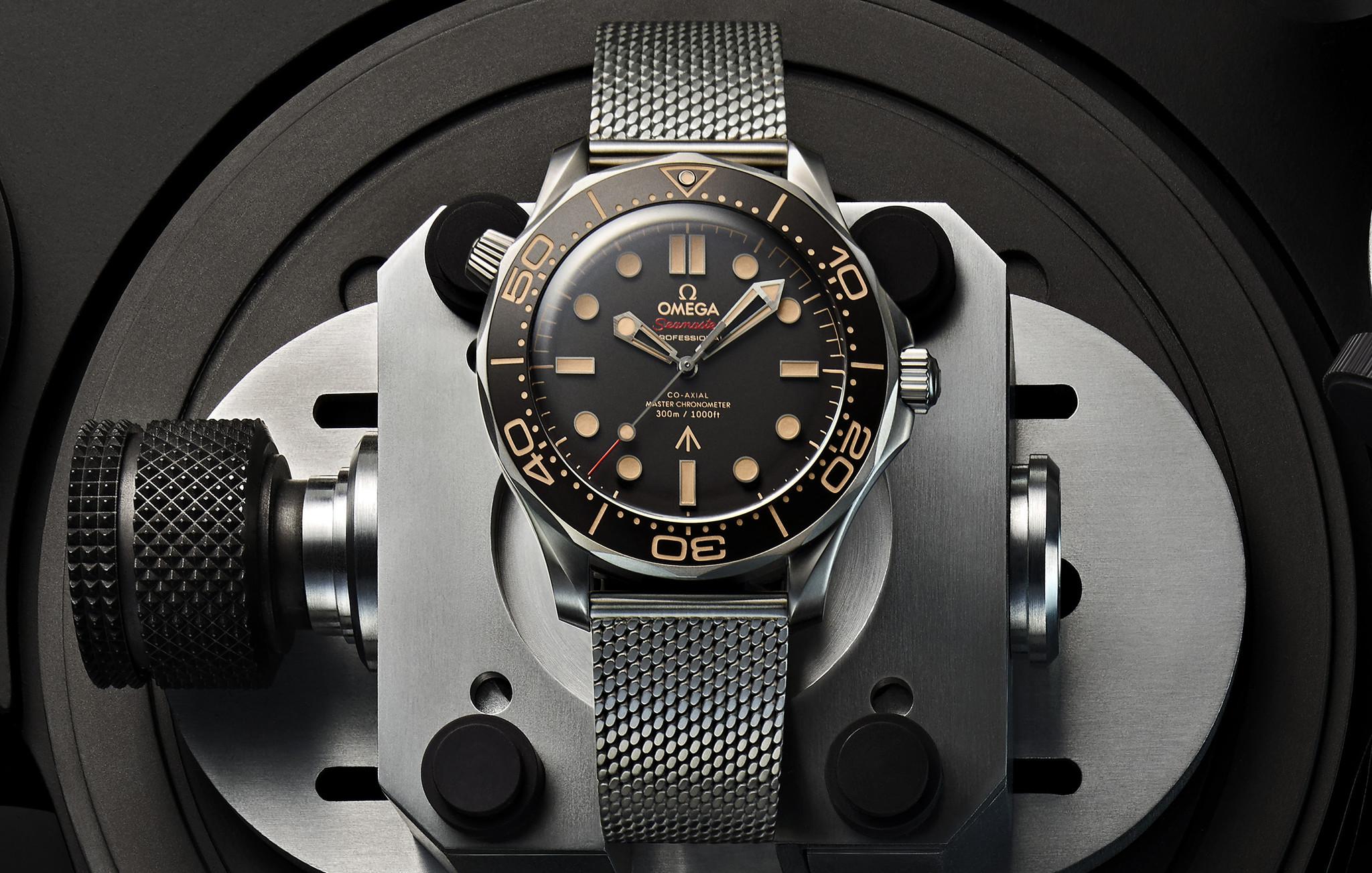 No Time To Die: het 007- James Bond horloge van Omega