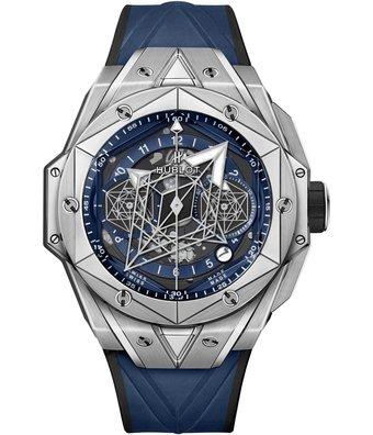 Hublot Horloge Big Bang Unico 45mm Sang Bleu II 418.NX.5107.RX.MXM20
