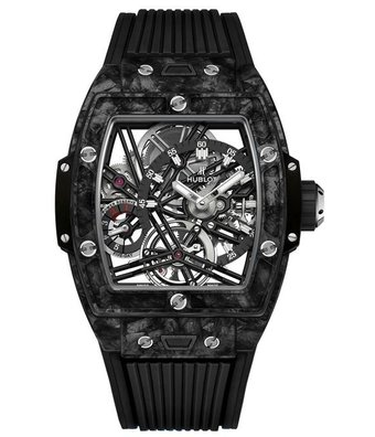 Hublot Horloge Big Bang 42mm Tourbillon Carbon Black 645.QN.1117.RX