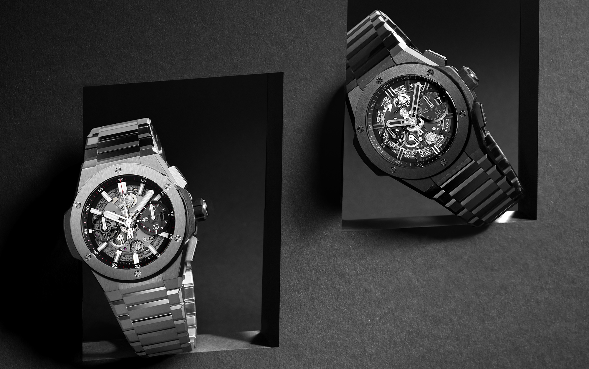 De nieuwe Hublot Big Bang Integral in Keramiek, Titanium of King Gold!