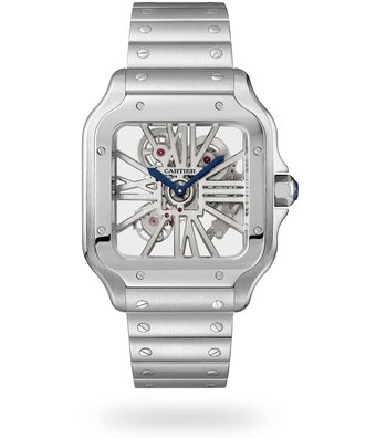 Cartier Horloge Santos LM WHSA0015