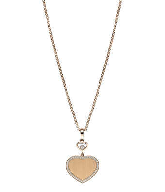 Chopard Collier Met Hanger Happy Diamonds 007 Happy Hearts 79A007-5921