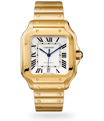 Cartier Horloge Santos LM WGSA0029