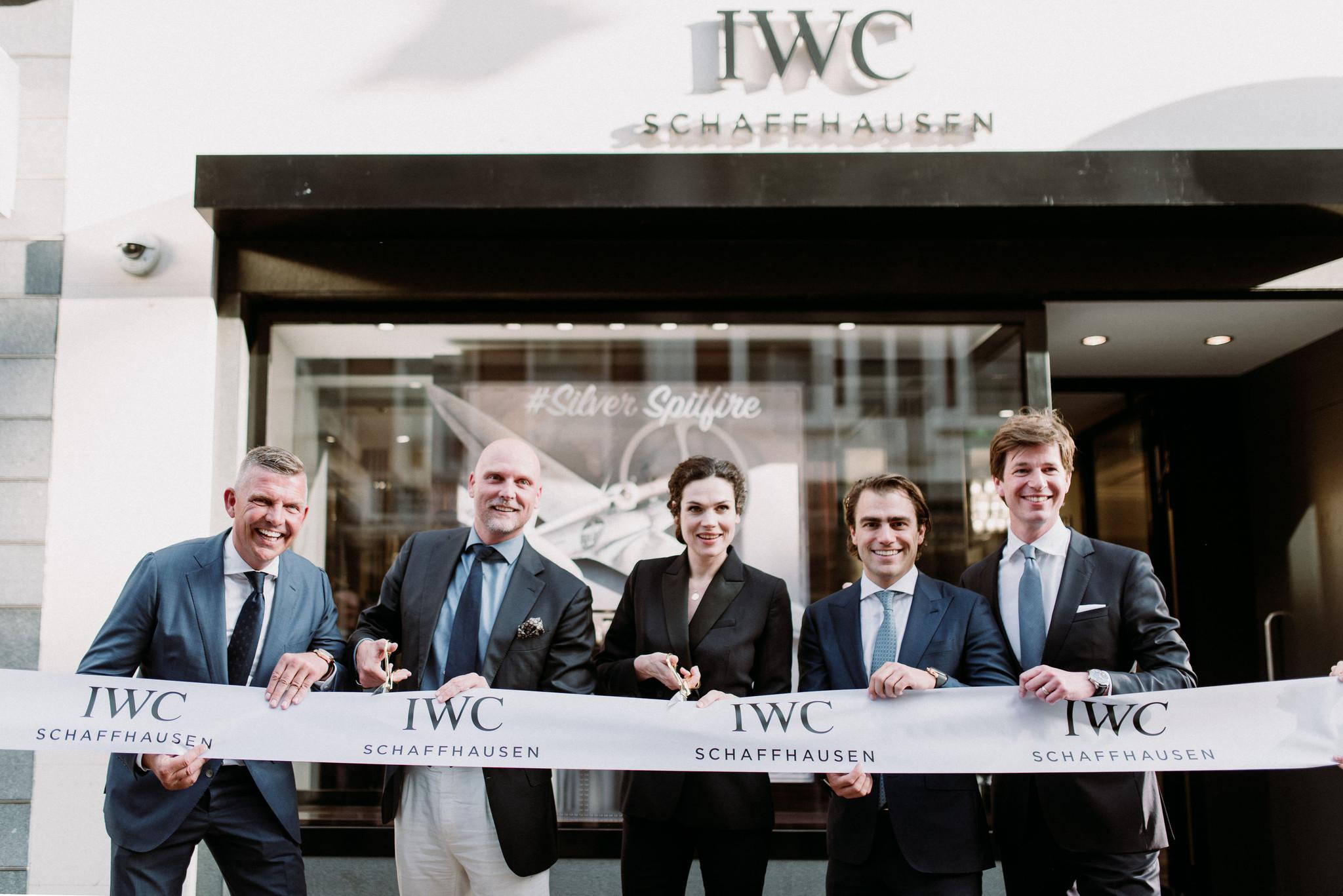 Schaap en Citroen & IWC Schaffhausen vieren heropening IWC boutique Amsterdam