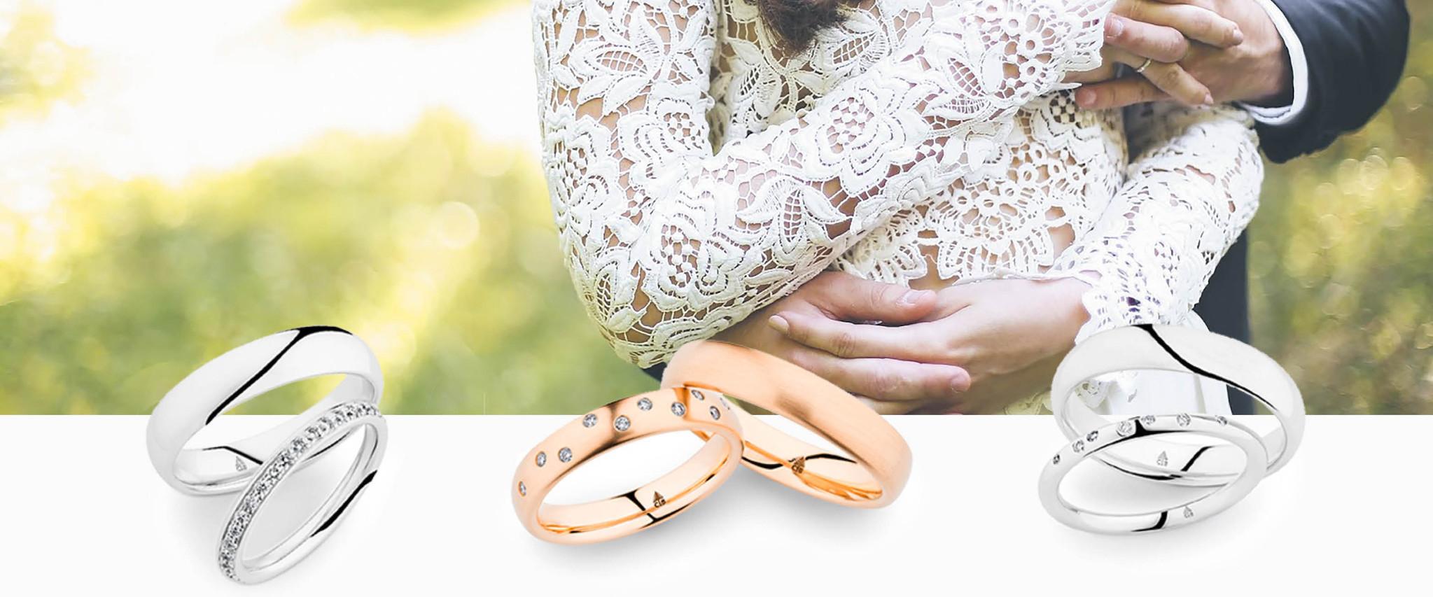 Gouden trouwringen kopen? Inspiratie voor iedere goudkleur, met of zonder diamant!