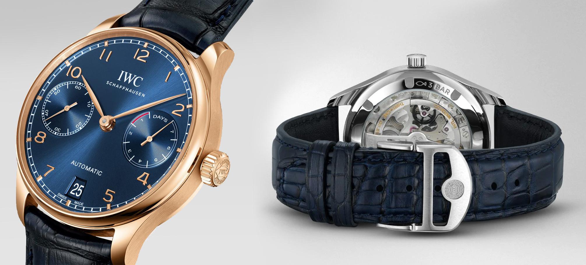 3 IWC horloges uit de nieuwe Portugieser collectie!