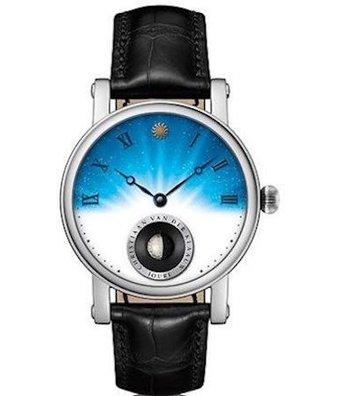 Christiaan van der Klaauw Horloge Real Moon Joure 40mm Horizon CKRJ33HZ