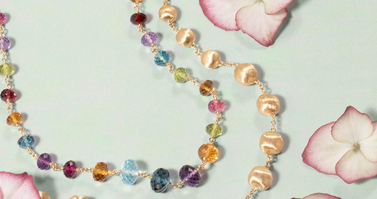 De sieraden-collecties van Marco Bicego - Jaipur, Lunaria, Paradise & Africa
