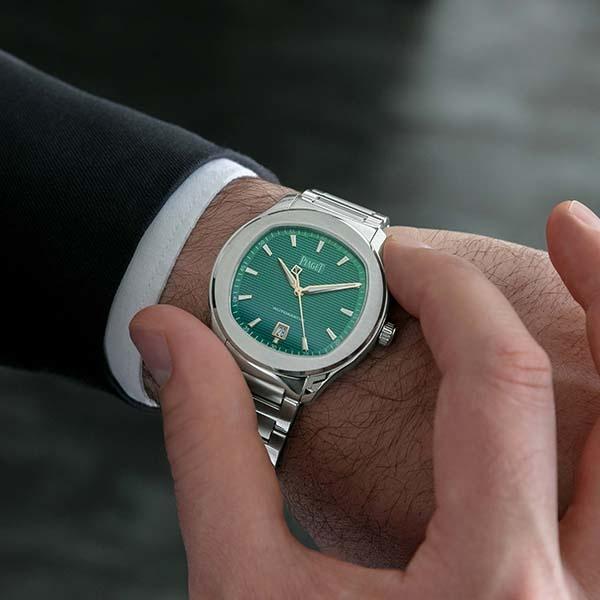 Piaget Polo S Green