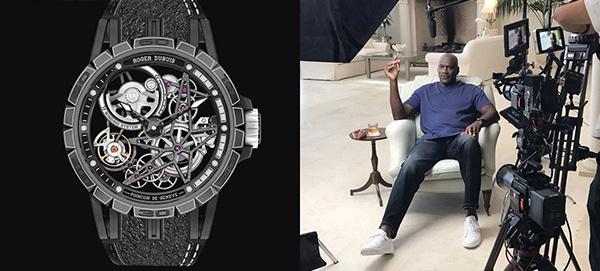 Michael Jordan & Scottie Pippen gespot met een Roger Dubuis horloges!