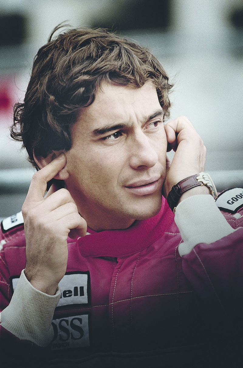 Ayrton Senna x TAG Heuer