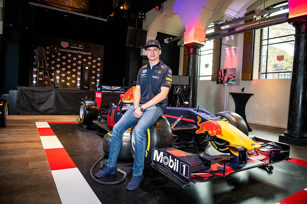 Max Verstappen x TAG Heuer