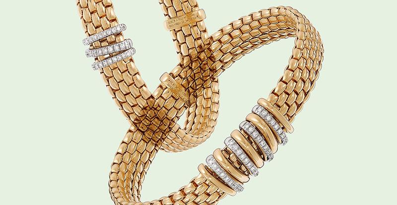 Ontdek de nieuwe FOPE Panorama collectie vol gouden sieraden