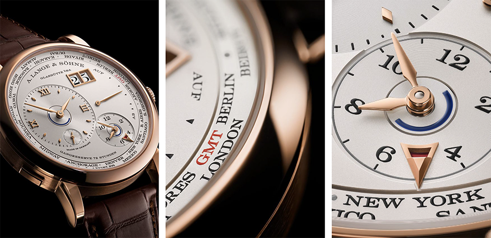 Het nieuwe A. Lange & Söhne Timezone 1 horloge ligt binnenkort in onze juweliershuizen!