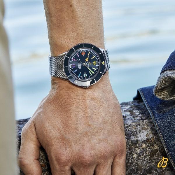 Ontdek de Breitling Superocean Heritage '57. Het nieuwe limited edition horloge vol vintage esthetiek!