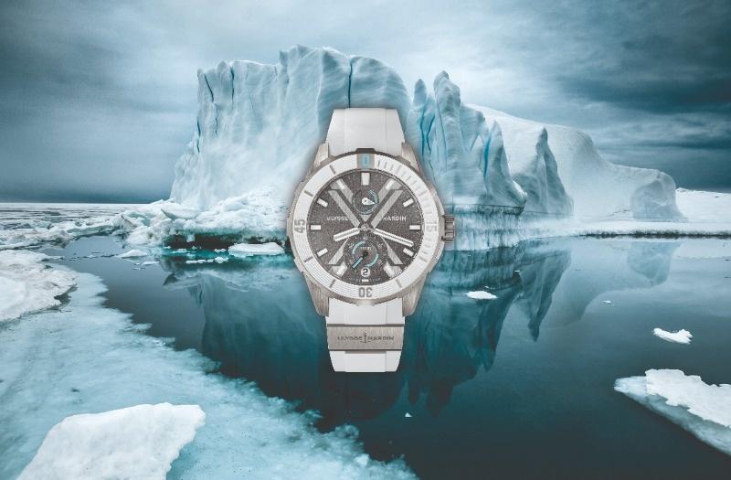 De Diver x Cape Horn & Diver x Antartica horloges van Ulysse Nardin uitgelicht