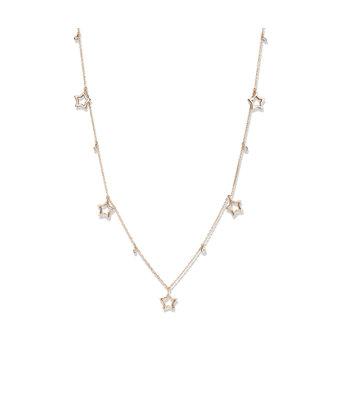 Schaap en Citroen Fantasie Collier Diamonds ster 234-5386-S