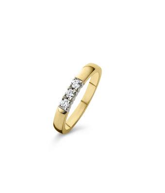 Schaap en Citroen Alliance Ring Diamonds 93012
