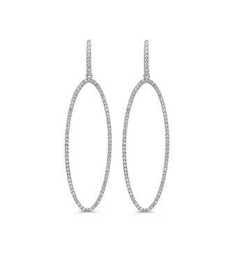 Schaap en Citroen Fantasie Oorhangers Diamonds 234-5005-BIS