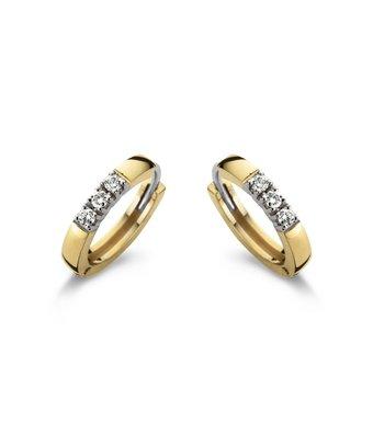 Schaap en Citroen Oorknoppen Diamonds alliance 93005