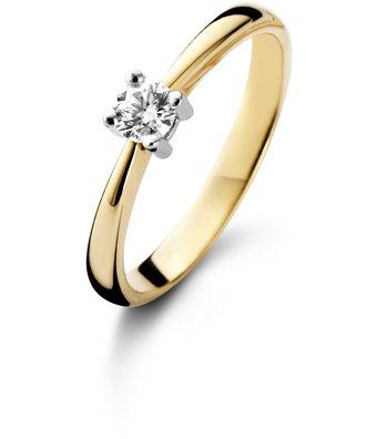 Schaap en Citroen Solitair Ring Diamonds solitair 0.17 5080-17