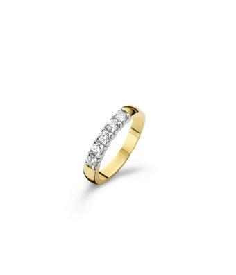 Schaap en Citroen Alliance Ring Diamonds 95012