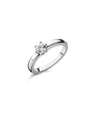 Schaap en Citroen Solitair Ring Diamonds 2372 HRD