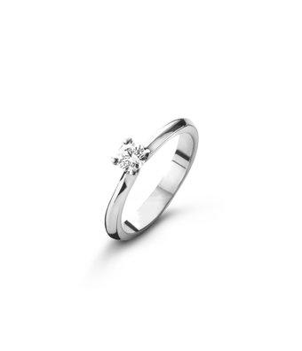 Schaap en Citroen Solitair Ring Diamonds 2471 HRD