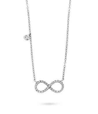 Schaap en Citroen Collier Met Hanger Diamonds oneindig teken 234-3603-G