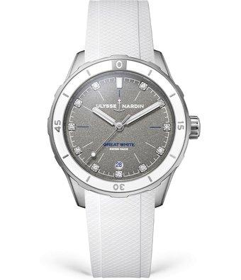 Ulysse Nardin Horloge lady Diver 39mm Great White 8163-182LE-3/11-GW