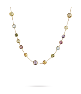 Rose-gouden Marco Bicego collier Jaipur