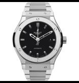 Hublot Horloge Classic Fusion 45mm Titanium Bracelet 511.NX.1170.NX