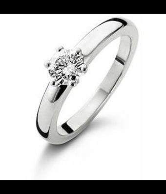 Schaap en Citroen Solitair ring Diamonds