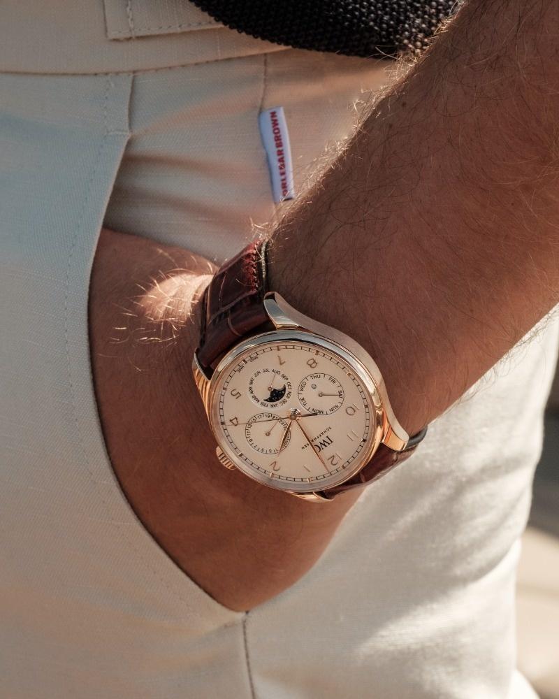 IWC Horloge Portugieser 42mm Perpetual calendar IW344202