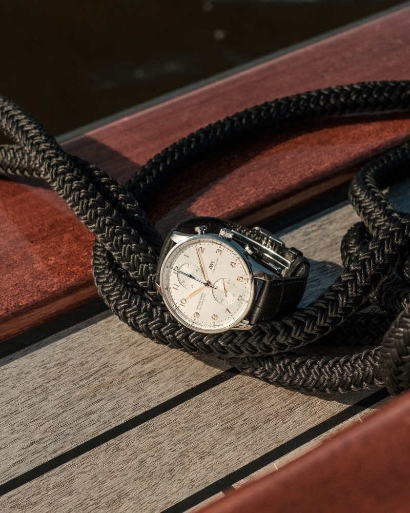 IWC Horloge Portugieser 41mm Chronograph IW371604